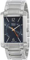 ESQ by Movado ESQ Movado Men's 07301405 esq Synthesis tm Rectangular Stainless Steel Watch