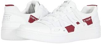 Mark Nason Palmilla - Wabi Sabi (White/Red) Men's Shoes