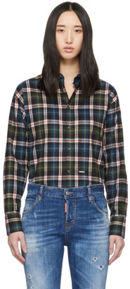 DSQUARED2 Blue Easy Dean Shirt
