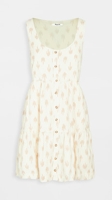 Madewell Tank Button Front Mini Dress