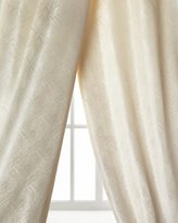 Dian Austin Couture Home Polygon Curtain, Ivory, 96""
