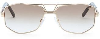 Cazal 61MM Modified Aviator Sunglasses