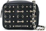 Versace studded satchel