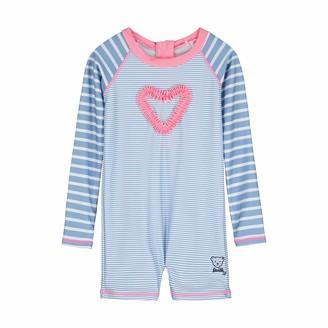Steiff Baby Girls' Strand Overall Swimwear Set