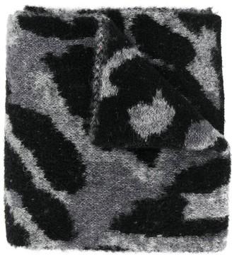 Stella Mccartney Kids Leopard Knit Scarf