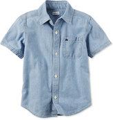 Carter's Toddler Chambray Cotton Shirt, Toddler Boys (2T-4T)