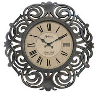 Infinity Instruments Decorative Traditional French Decor Wall Clock