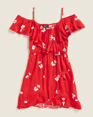 Bardot Girls 7-16) Beck Floral Ruffle Dress