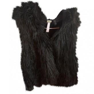 adidas Black Faux fur Jacket for Women