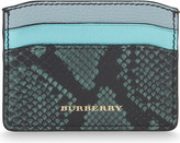Burberry Izzy snakeskin cardholder