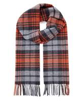 Jaeger Wool Highlight Check Scarf