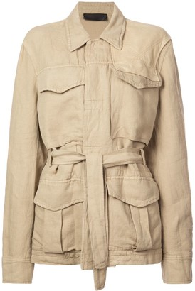 Haider Ackermann Basic Belted Jacket