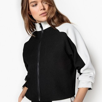 La Redoute Collections High Neck Colourblock Jacket