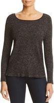 Design History Ribbed Metallic Sweater