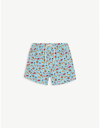 MC2 Saint Barth Sushi print swim shorts 4-10 years