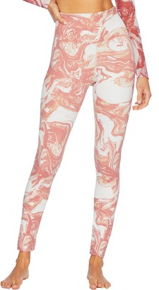 Beach Riot Piper High Waist Swirl Print Leggings