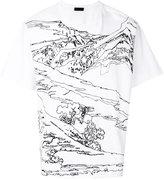 Diesel Black Gold mountain T-shirt