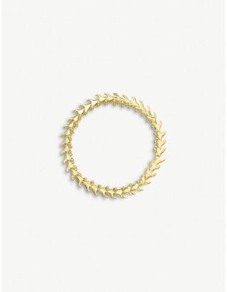 Shaun Leane Serpent Trace slim gold-plated vermeil silver bracelet