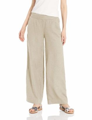 Daily Ritual Amazon Brand Women's Linen Wide-Leg Pant