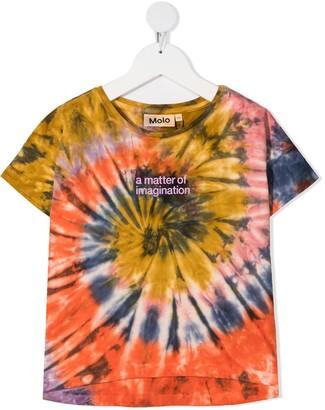 Molo Swirl tie-dye print T-shirt