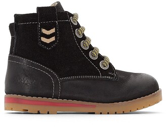 Kickers Musk Leather Ankle Boots