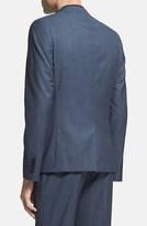 Topman Skinny Fit Navy Suit Jacket