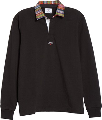 Noah Madras Collar Rugby Shirt
