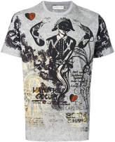 Etro printed crew neck T-shirt