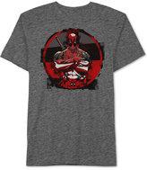 JEM Men's Deadpool Four Block Graphic-Print T-Shirt from