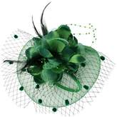 MonkeyJack Lady Flower Fascinator Hat Hair Band Cocktail Wedding Party Headpiece