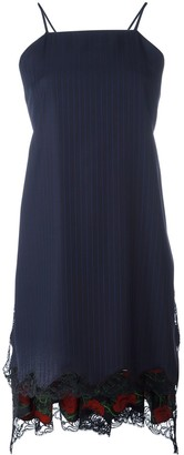 Alexander Wang Flared Apron Dress