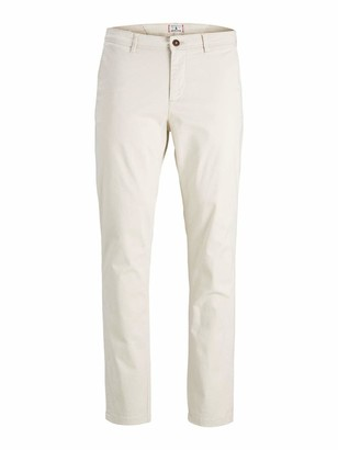 Jack and Jones Men's JJIMARCO JJBOWIE SA Silver Birch STS Trouser 31 W/32 L