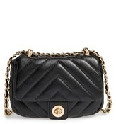 BP Quilted Faux Leather Crossbody Bag - Black