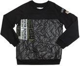 John Galliano Cotton Interlock & Nylon Sweatshirt