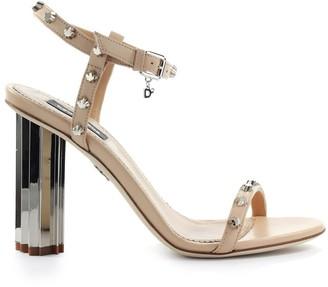 DSQUARED2 Nude Studs Sandal
