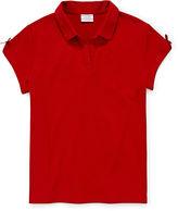 IZOD EXCLUSIVE IZOD Short-Sleeve Polo - Girls 7-16 and Plus