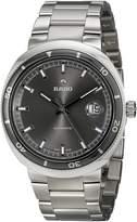 Rado Men's R15959103 D-Star Analog Display Swiss Automatic Silver Watch