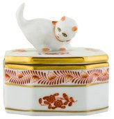 Herend Chinese Bouquet Porcelain Box