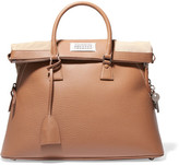 Maison Margiela 5ac Large Textured-leather Tote - Tan