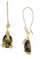 Alexis Bittar Crystal Mosaic Stone Drop Earrings