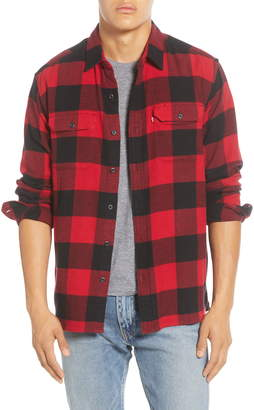 Levi's Jackson Flannel Button-Up Work Shirt