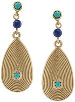 Lauren Ralph Lauren Textured Drop Earrings