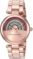 Marc Jacobs Women's 'Dotty' Quartz Stainless Steel Casual Watch, Color:Rose Gold-Toned (Model: MJ3546)