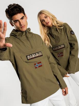 Napapijri Rainforest Summer Jacket in Olive Green
