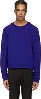 Haider Ackermann Indigo Short Pullover