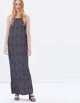 Nude Lucy Illusion Scoop Maxi Dress