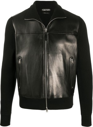 Tom Ford Panelled Zip-Up Jacket