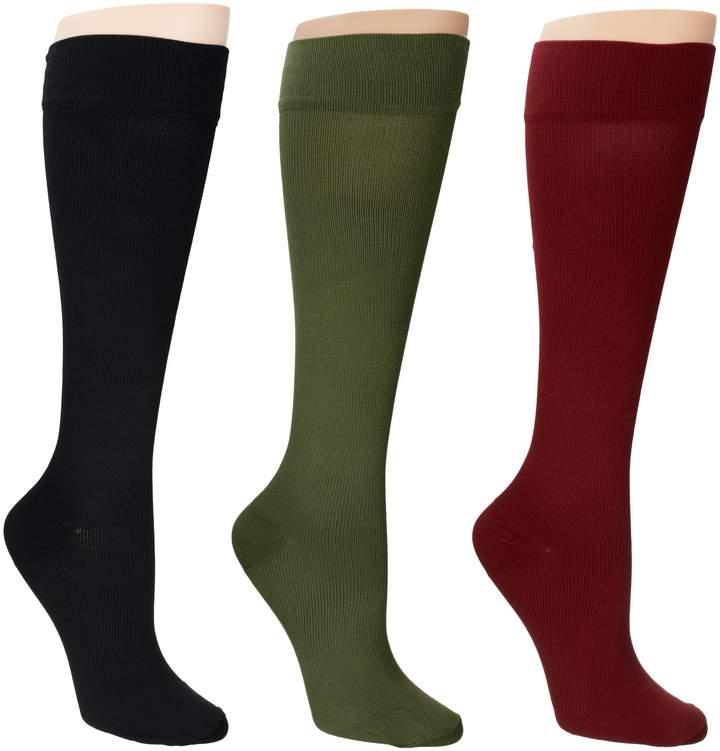 Legacy Legwear Graduated Compression Socks Set of 3 20-30 mmHg