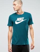 Nike Futura T-shirt In Blue 696707-346