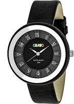 Crayo Celebration Collection CRACR3401 Unisex Watch with Leather Strap